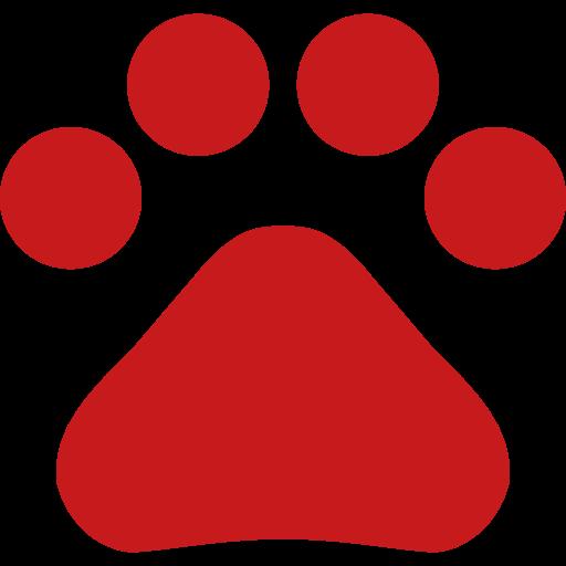 Hundepfote-Symbol