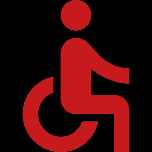 Rollstuhl-Symbol